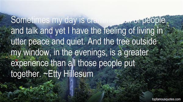 Quotes About Quiet Evenings