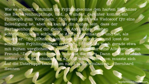Quotes About Rachen