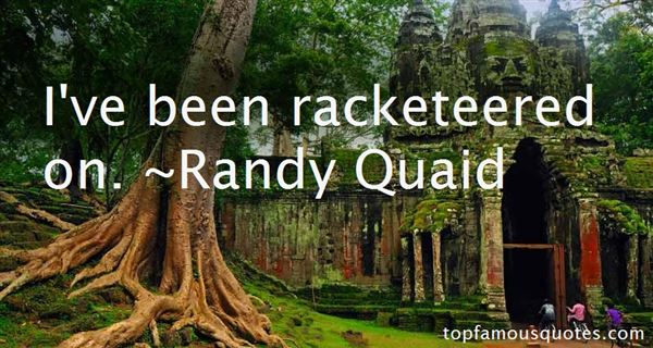 Quotes About Racketeer