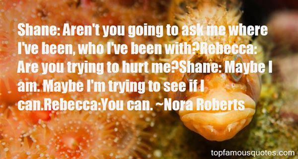 Quotes About Rebecca In Rebecca