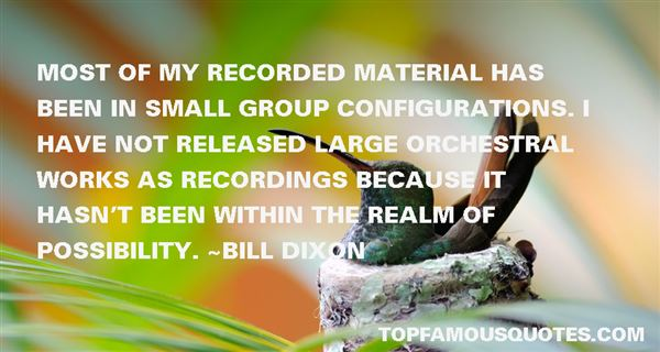 Quotes About Recordings