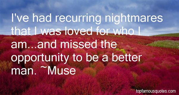 Quotes About Recurring Nightmares