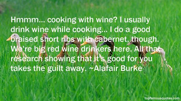 Quotes About Red Wine