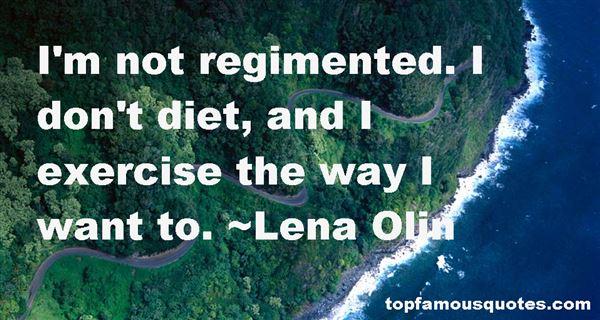 Quotes About Regimen