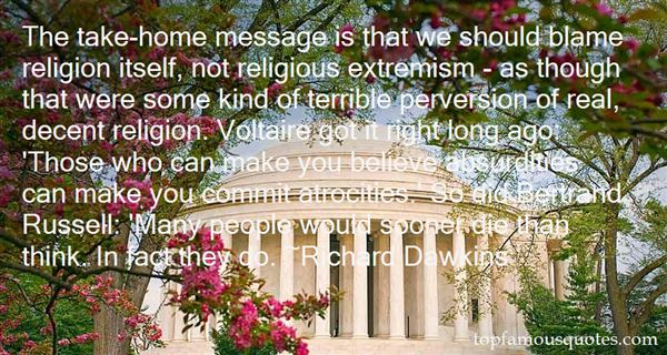 Quotes About Religious Extremism