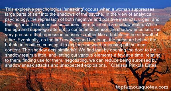 Quotes About Repression Of Feelings