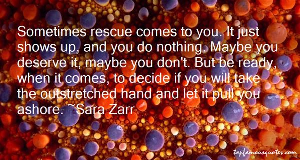 Quotes About Rescue