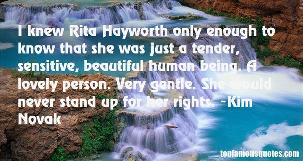 Quotes About Rita Hayworth