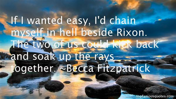 Quotes About Rixon
