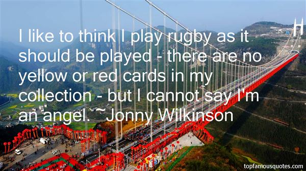 Quotes About Rugby