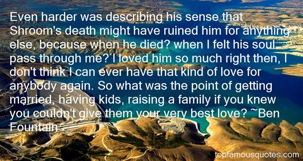 Quotes About Ruined Family