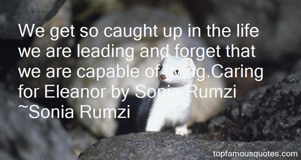 Quotes About Rumzi
