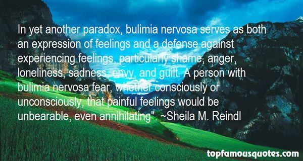 Quotes About Sad Bulimia