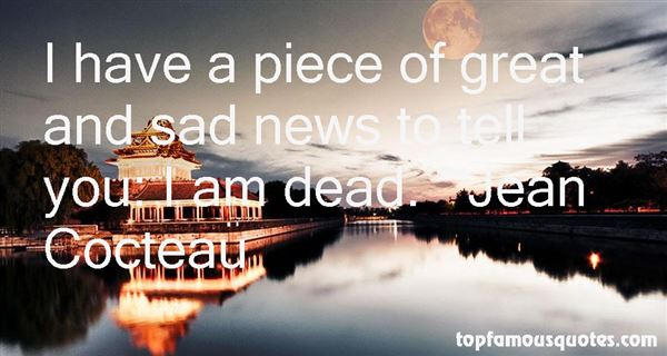 Quotes About Sad News