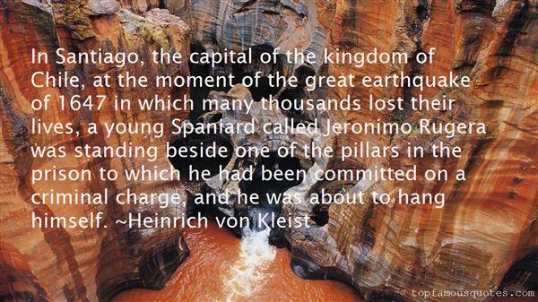 Quotes About Santiago Chile