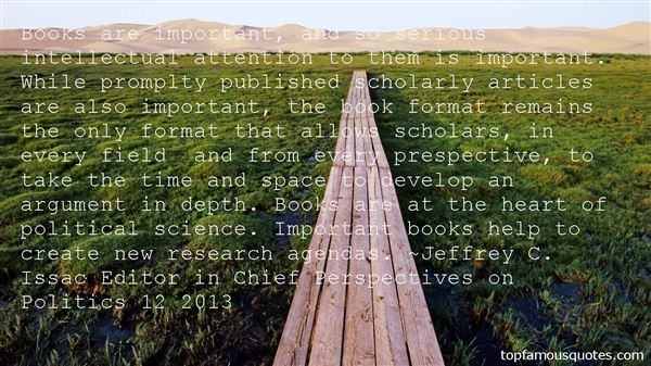 Quotes About Scholarly