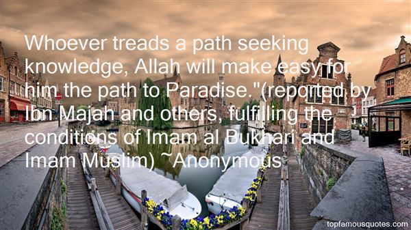 Quotes About Seeking Knowledge