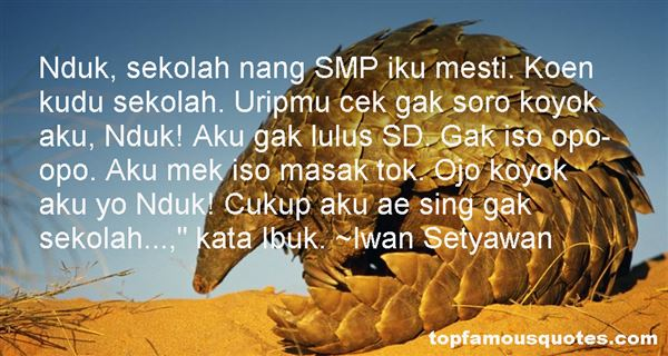 Quotes About Sekolah