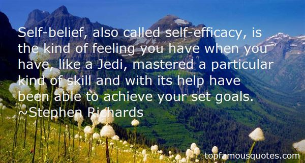 Quotes About Self Efficacy