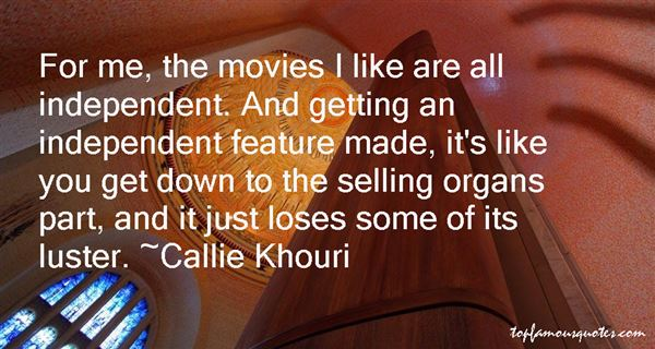 Quotes About Selling Organs