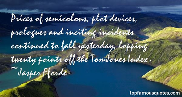 Quotes About Semicolons