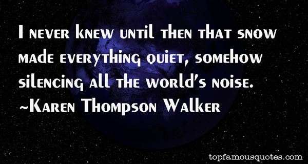 Quotes About Silencing
