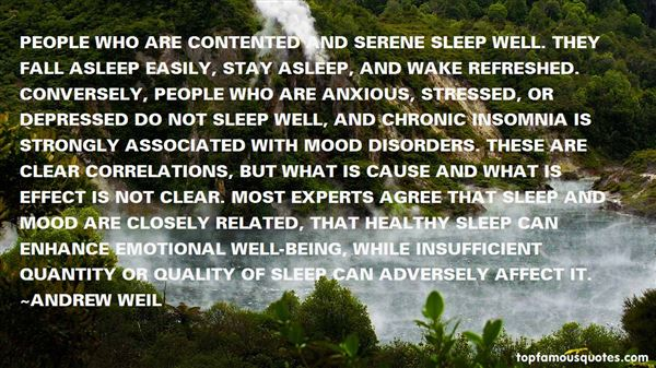 Quotes About Sleep Disorders