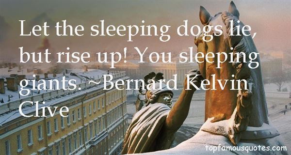 Quotes About Sleeping Giants