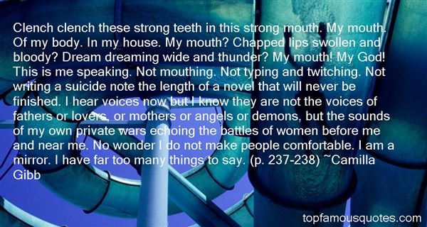 Quotes About Speaking Out