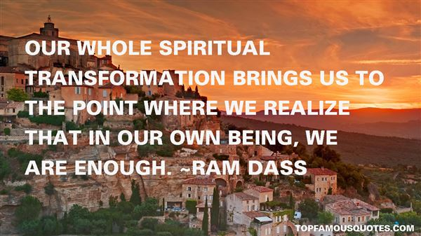 Quotes About Spiritual Transformation