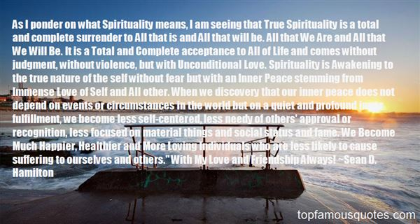 Quotes About Spirituality And Love