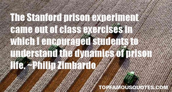 Quotes About Stanford Prison Experiment