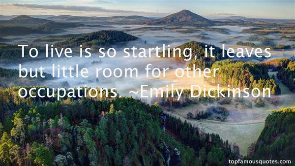 Quotes About Startling