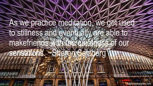 Quotes About Stillness And Quiet