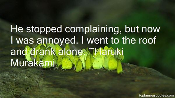 Quotes About Stop Complaining