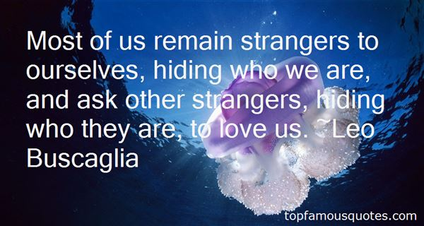 Quotes About Strange Love