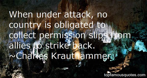 Quotes About Strike Back