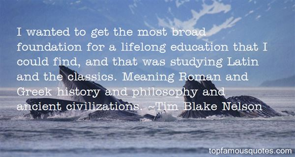 Quotes About Studying Classics