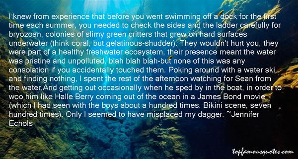 Quotes About Swimming Underwater