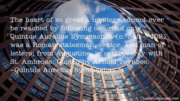 Quotes About Symmachus