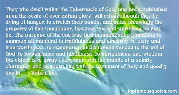Quotes About Tabernacle