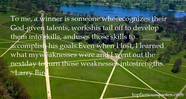Quotes About Talents And Skills