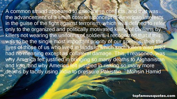 Quotes About Terrorism In Pakistan