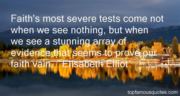 Quotes About Tests Of Faith
