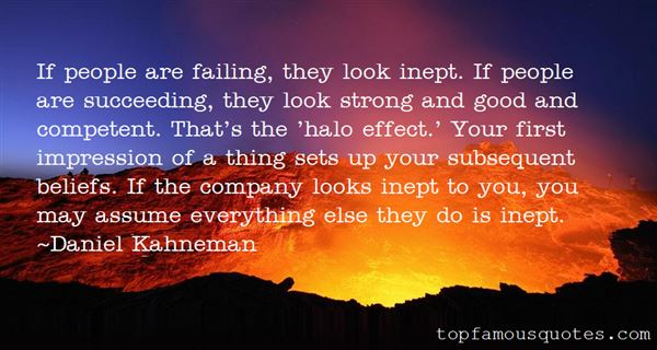 Quotes About The Halo Effect