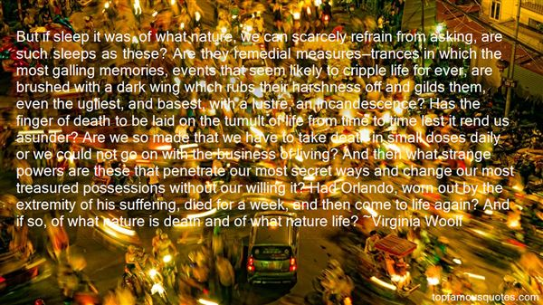 Quotes About The Harshness Of Nature