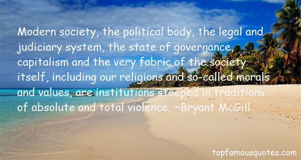 Quotes About The Judiciary System
