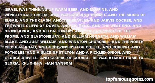 Quotes About The White Cliffs Of Dover