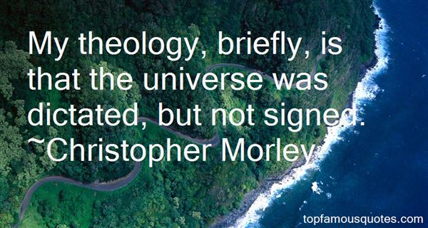 Quotes About Theology
