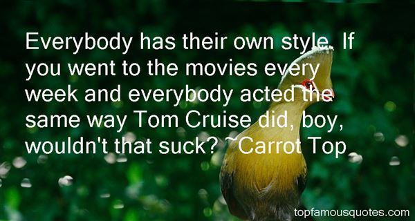 Quotes About Tom Cruise